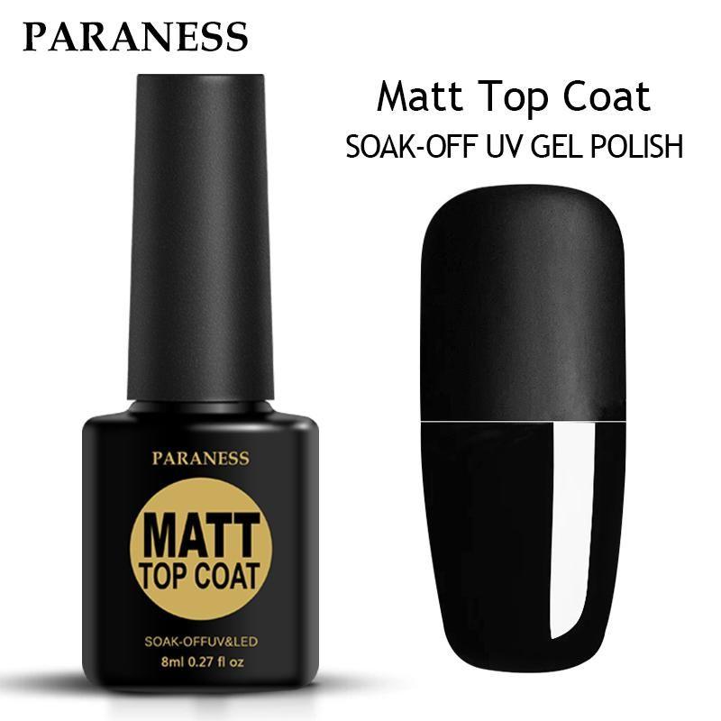 Transparent Color Nail Gel Polish Matte Art | Products | Pinterest