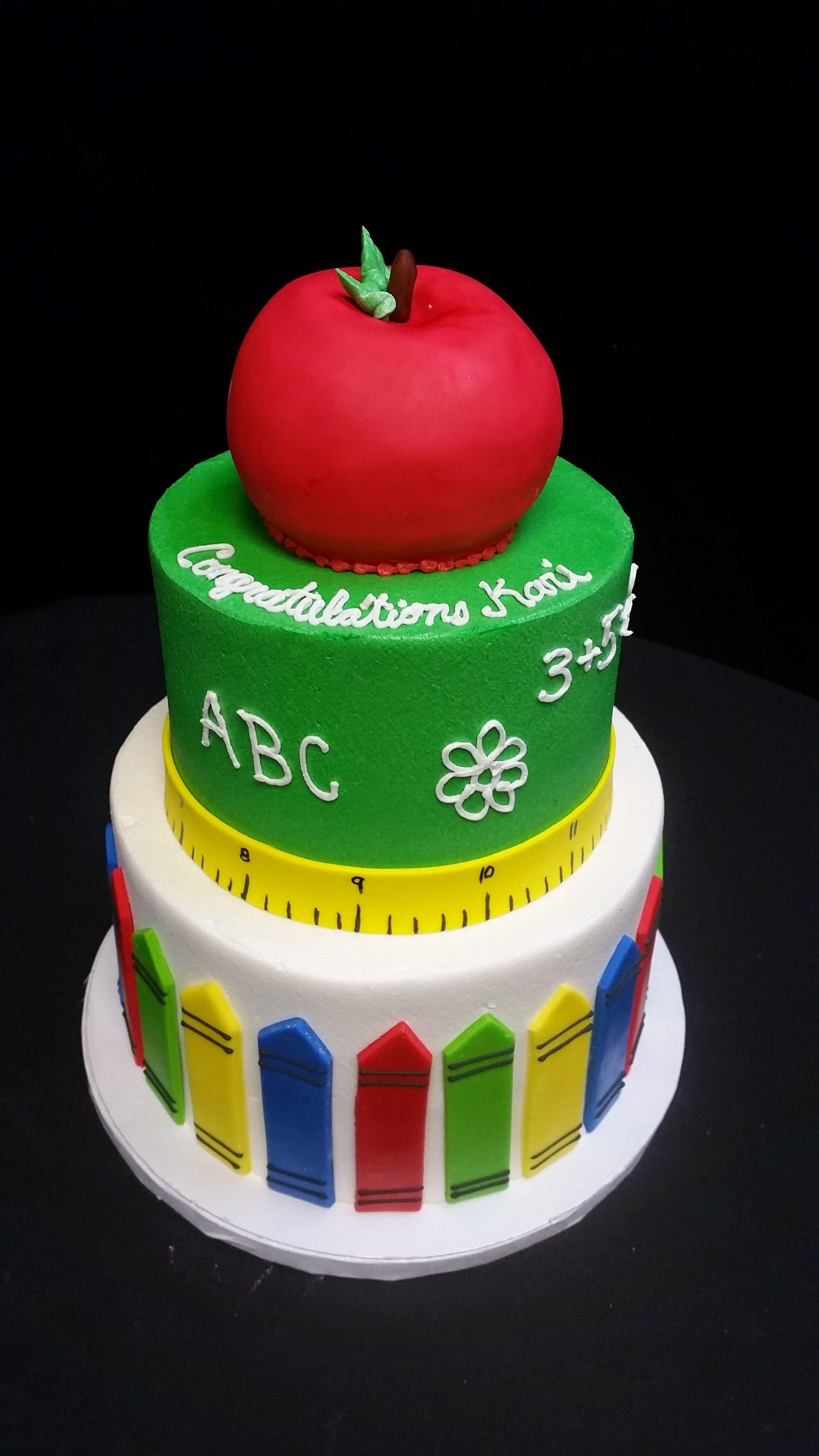 Cookie Jar Bakeshop I Custom Cakes I Teacher Graduation