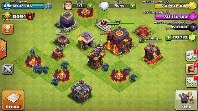 clash of clans hack clash of clans server dark soul private