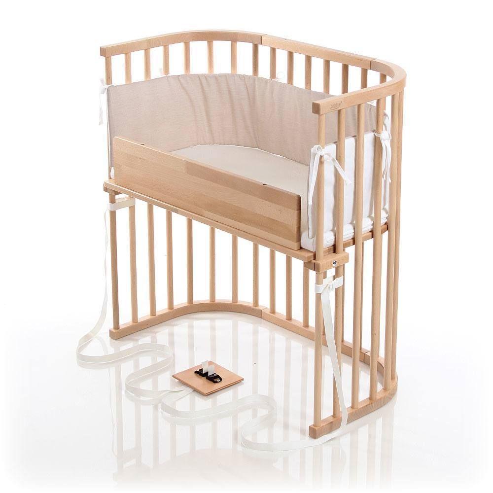 Crib for babies online india - Babybay Co Sleeper Crib In Light Gloss Finish Babymusthave Newborn Organic Babyfurniture