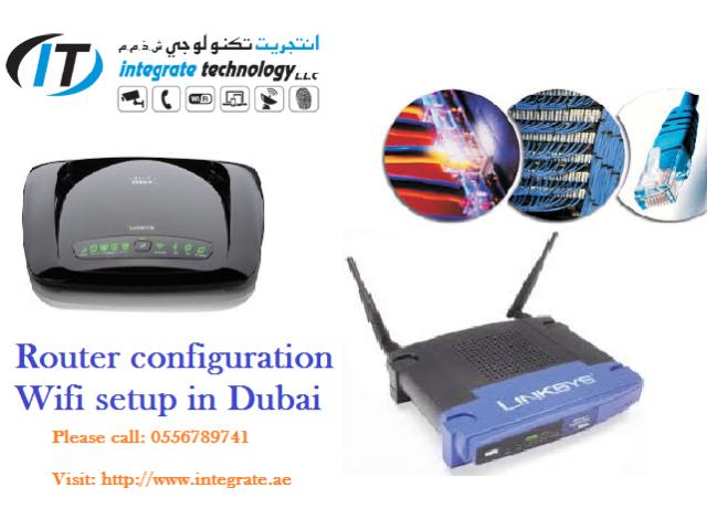 0556789741 IT support wifi technician Dlink cisco linksys