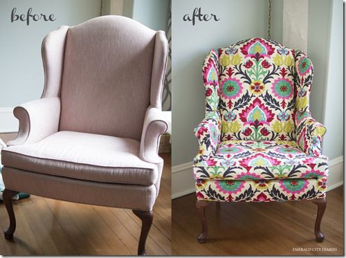 diy upholstered wingback chair do it herself workshop in 2019 chair reupholstery diy chair. Black Bedroom Furniture Sets. Home Design Ideas