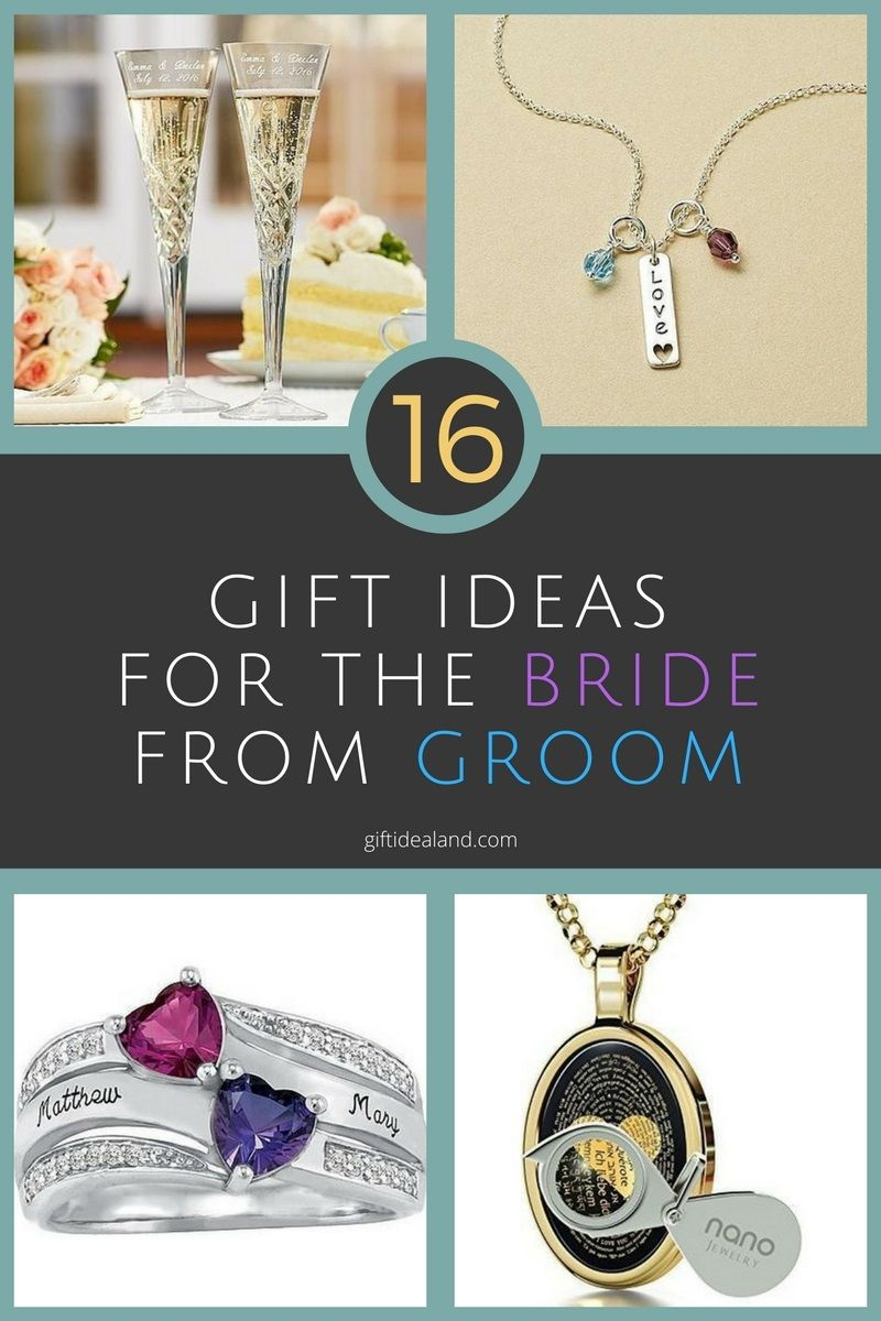 16 great wedding gift ideas from groom to bride diy