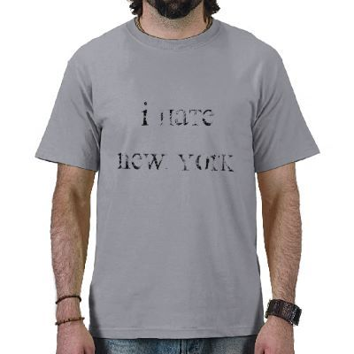 1b17499424f I Hate New York T-Shirt