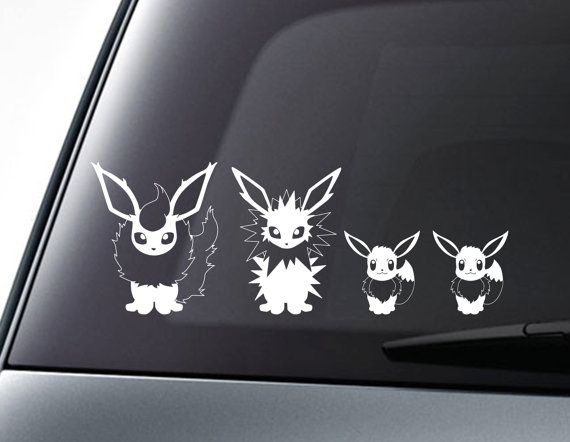 Pokemon Go Jolteon Decal Vinyl Truck Car Sticker