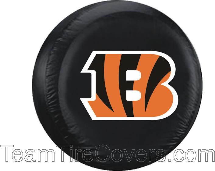 "Cincinnati Bengals NFL 33""35"" Only Tire Cover Bengals"