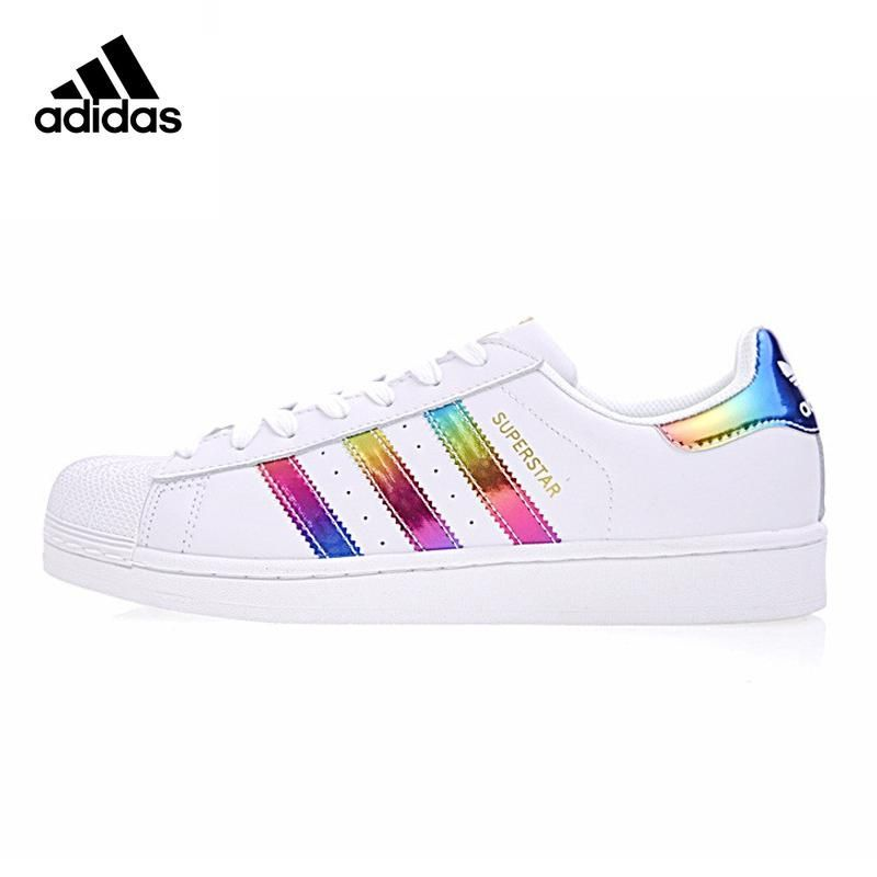 adidas superstar colours red