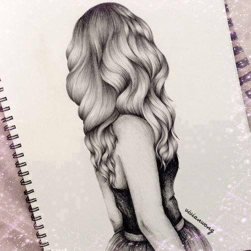 Amazing Art Awesome Draw Drawing Drawings Girl Hair