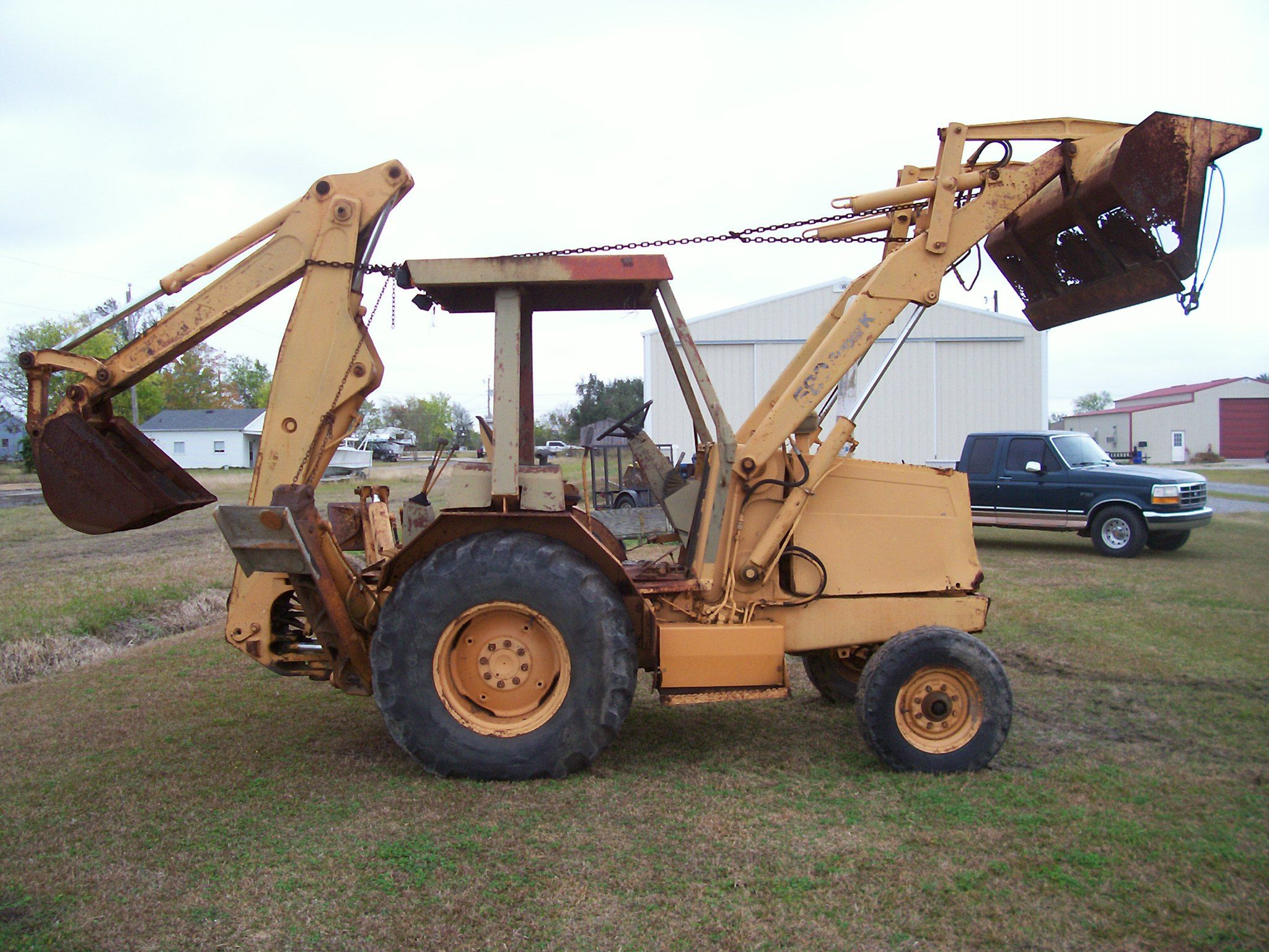 Used Case Backhoe Parts : Used case backhoe and dozer parts backhoes