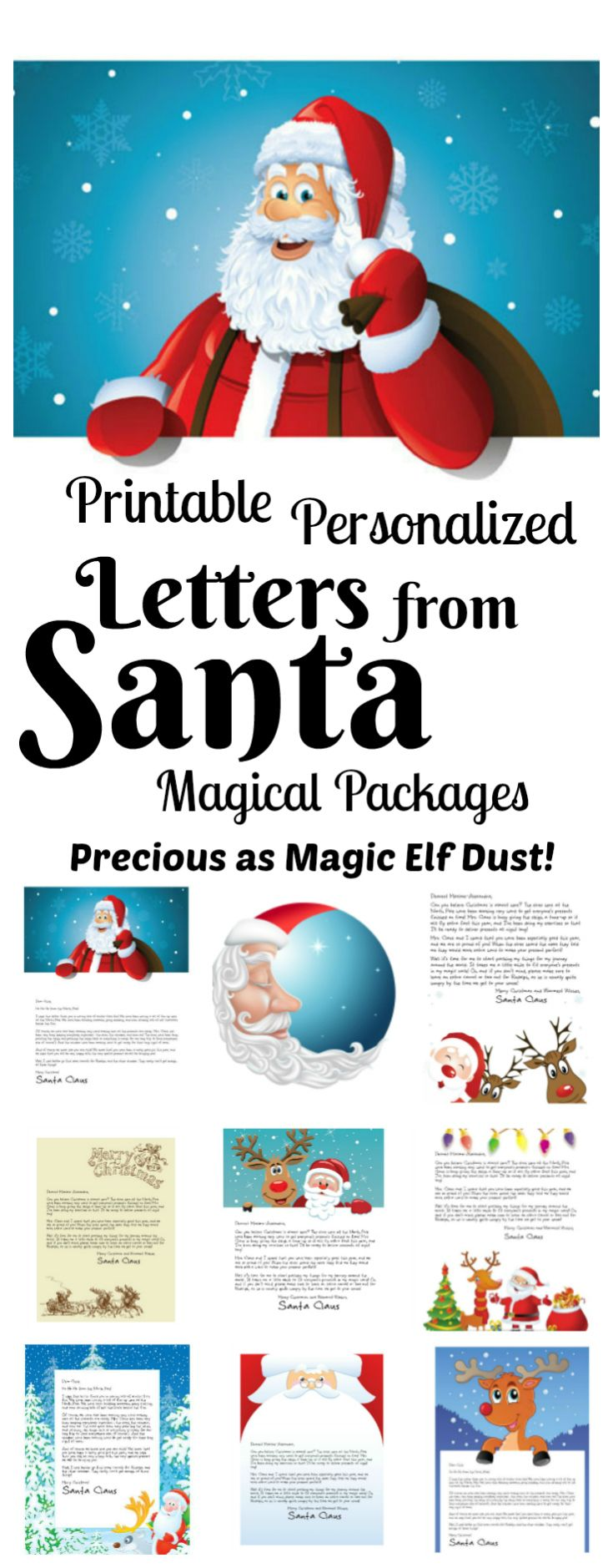 Letters From Santa Our Magical Packages  Santa Printable Letters