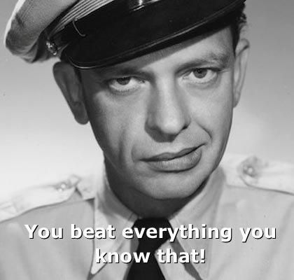 Barney Fife Quotes Brilliant Actually Andy Says This All The Time To Barney Tv Show
