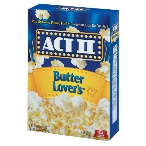 After Flipping Over Every Orville Redenbacher Gourmet Popcorn In The I Found Only A