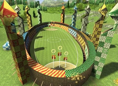 Harry potter quidditch pitch this would make an awesome for Table quidditch