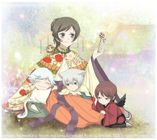 Kamisama Hajimemashita Wallpaper Kamisama Kiss Kamisama Kiss Anime Anime Romance