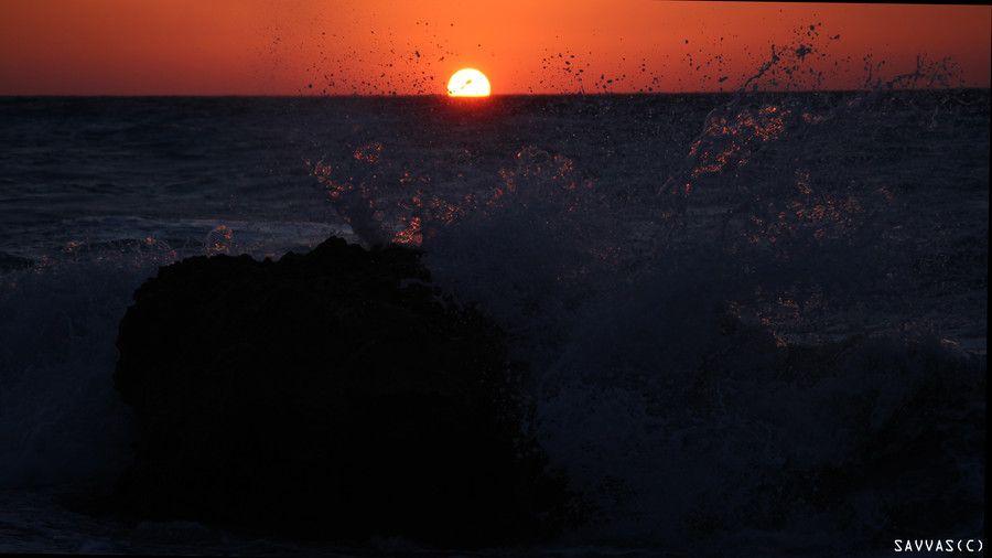 Sunset.! by Savvas Tsouroutis on 500px