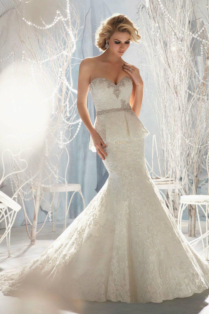 Lace dress wedding  wedding dress wedding dresses  Vestidos de novia  Pinterest