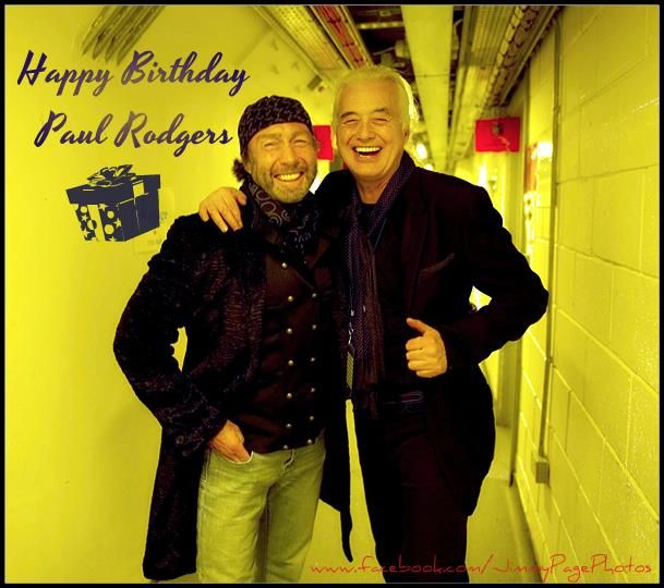 Jimmy Page, Paul Rodgers, Led