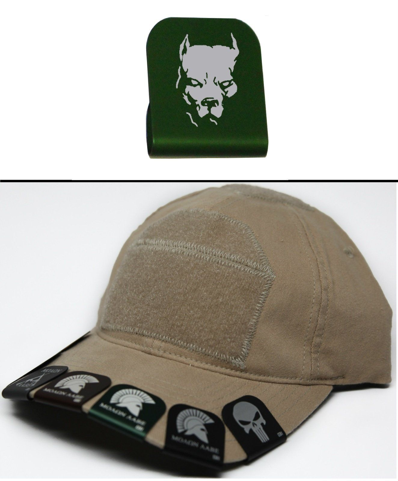92c6f8b072f Ultimate Arms Gear PITBULL DOG Hat Cap Crown Brim-It