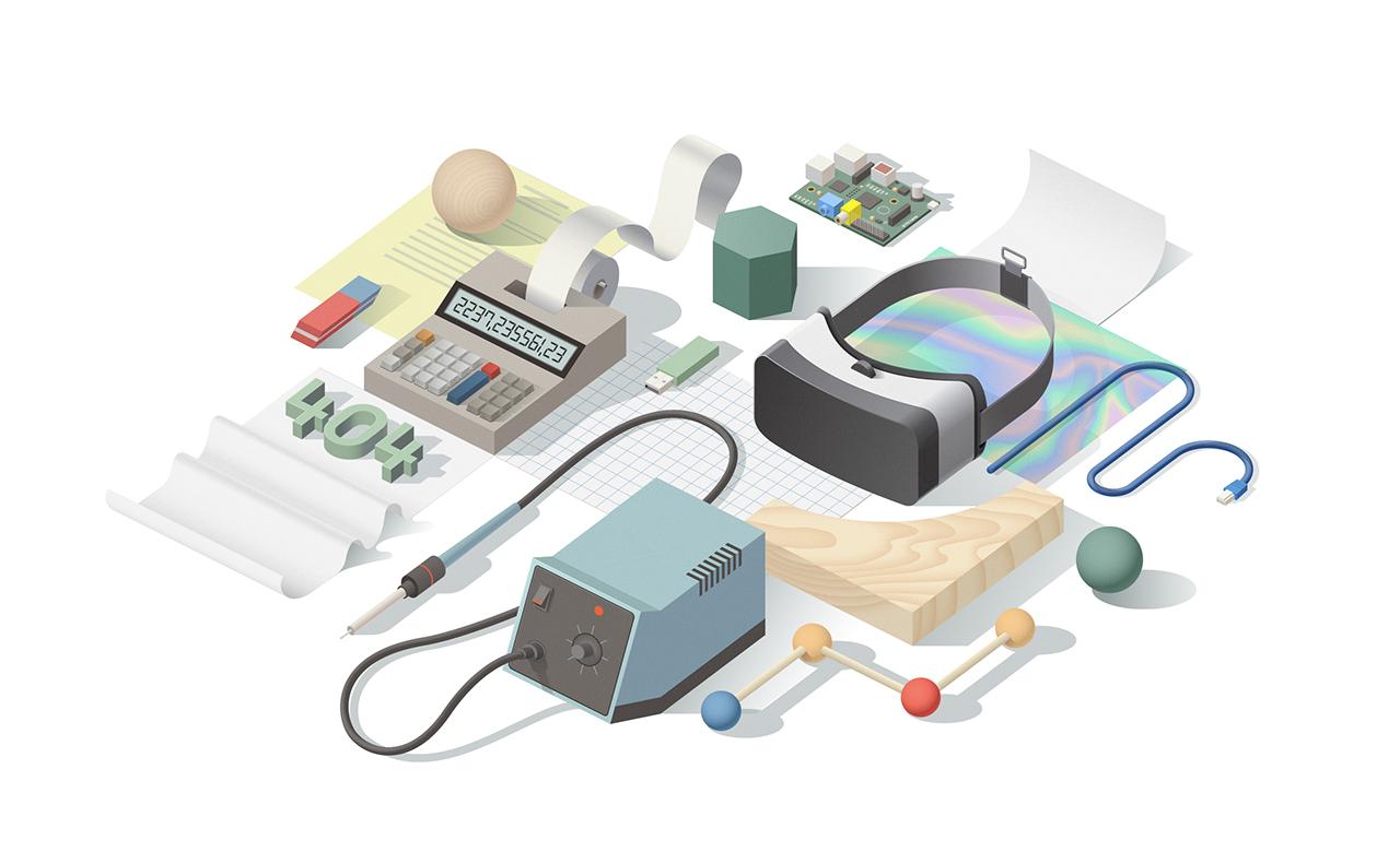 Illustrations for Stinkdigital by Facultative Works — Designcollector