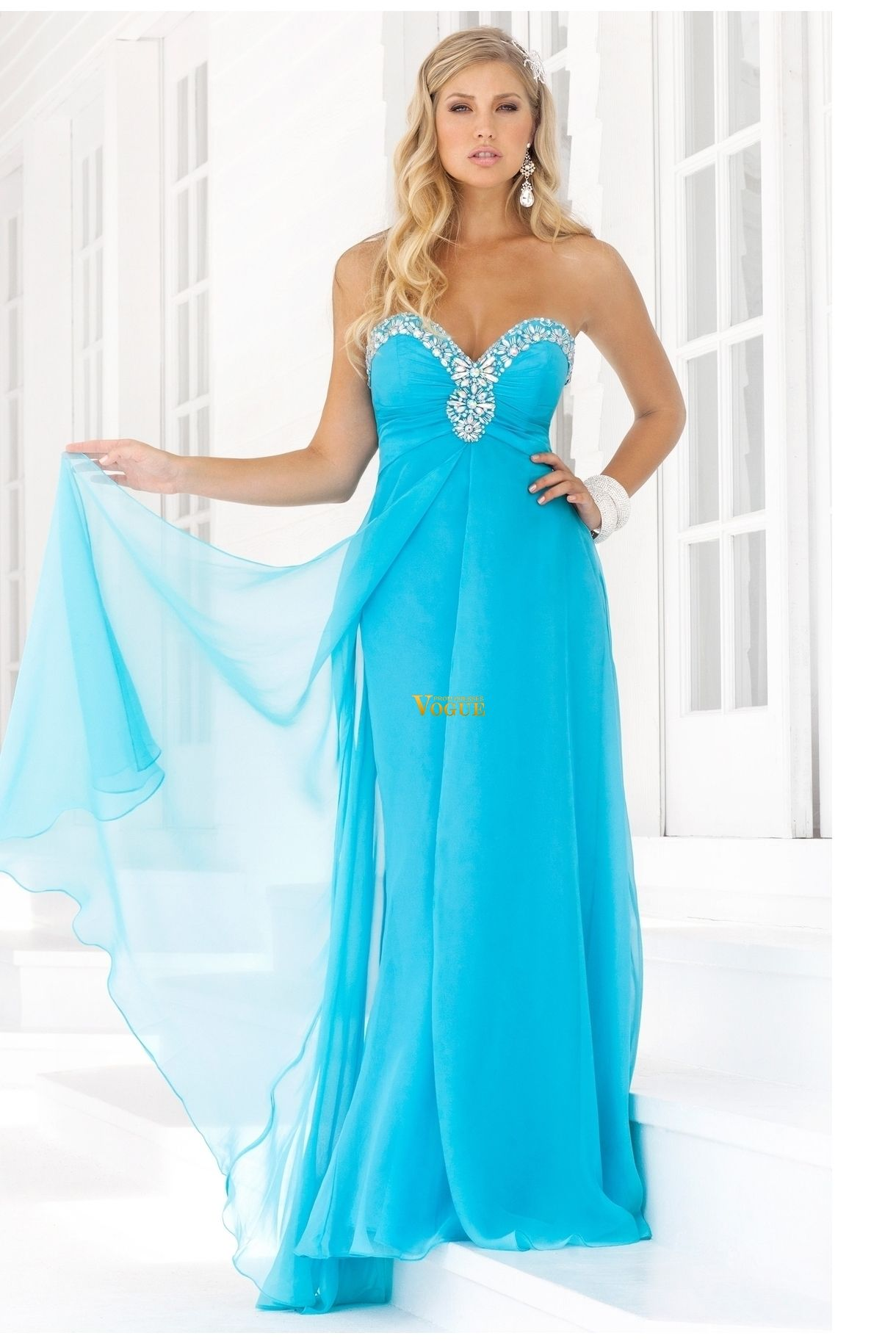 2012 Collection Blue Sweetheart Yellow Pink Prom Dresses Under 200 ...
