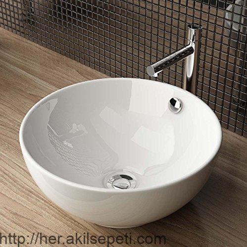 Design Keramik Aufsatzwaschbecken Waschtisch Waschschale