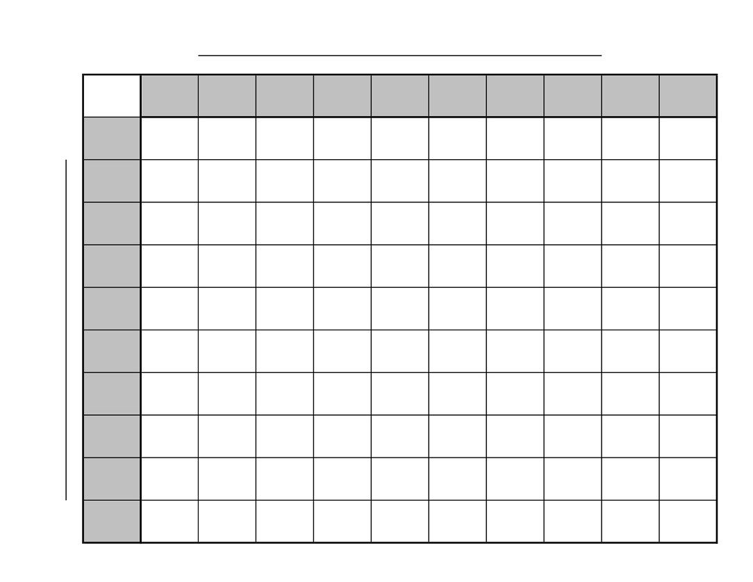 Printable Football Squares Football Pool Football Squares
