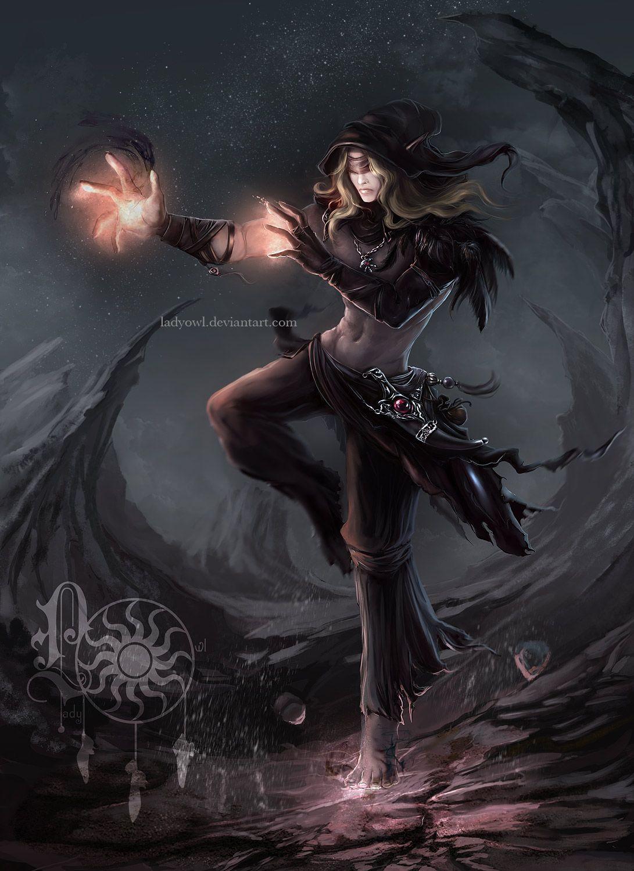 elf mage by ladyowldeviantartcom female elf wizard