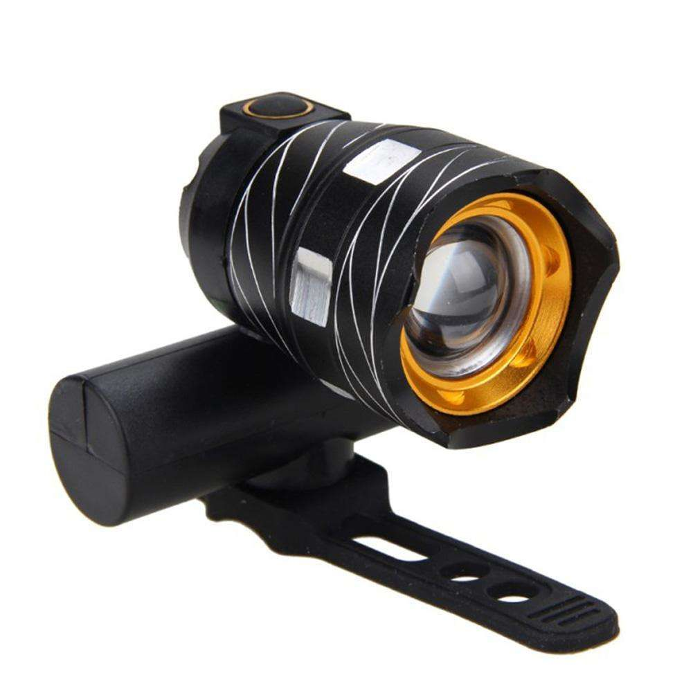 Outdoor Portable 300lm T6 Led Bicycle Headlights Taillight With