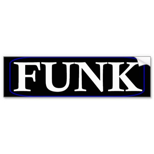 Funk Bumper Sticker