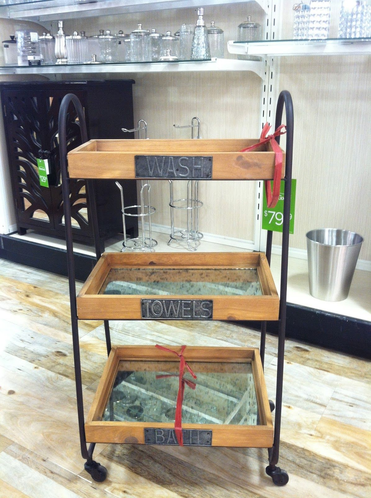 Homegoods. Storage for half bath (With images) | Home ...