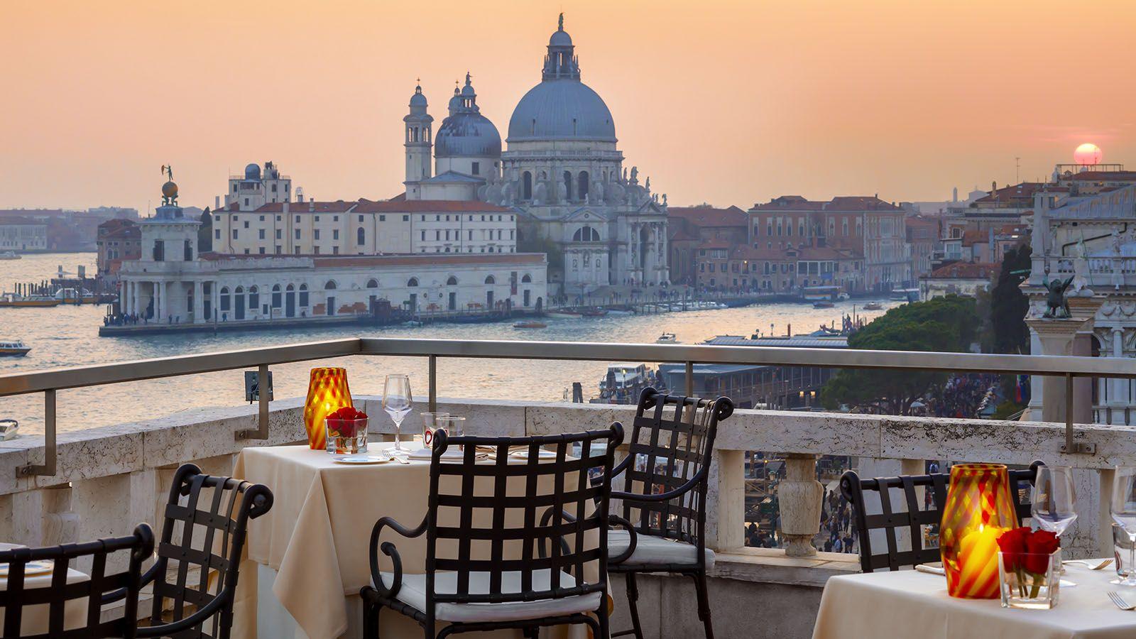 Restaurant Terrazza Danieli Romantic Table For Two