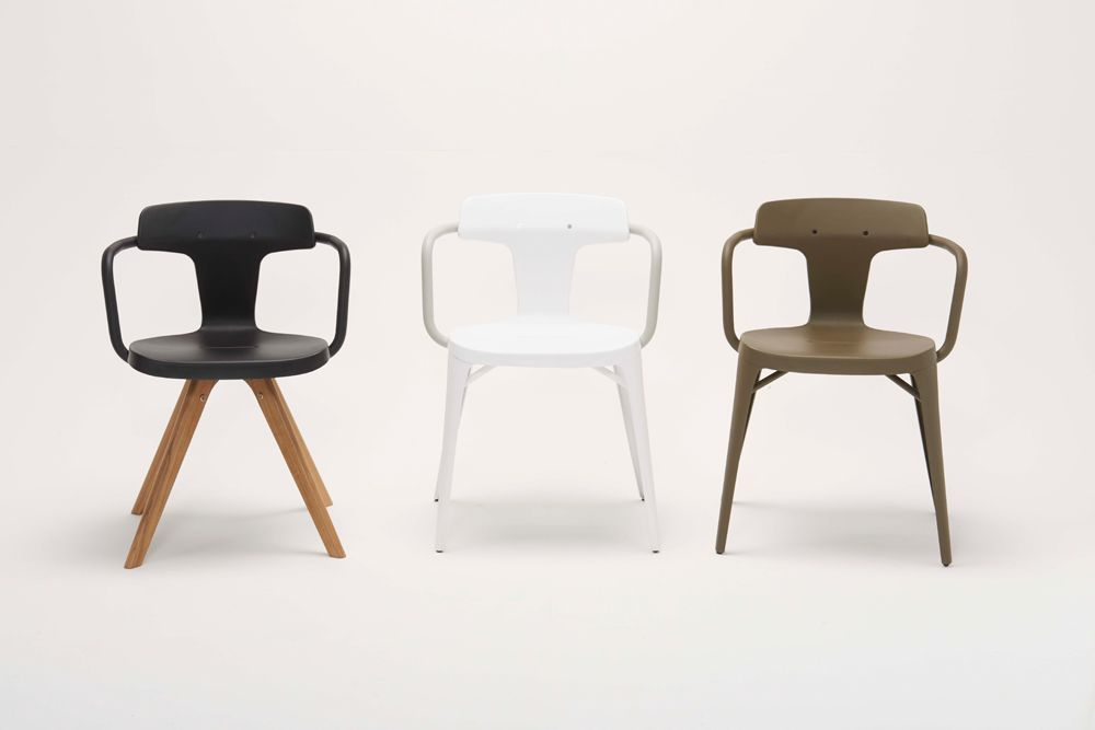 3 Chairs / T14 N Patrick Norguet for Tolix
