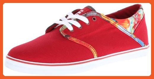 392b62ed7c870 Etnies Women's Caprice Eco Slim Vulcanized Shoe,Red,8.5 M US ...