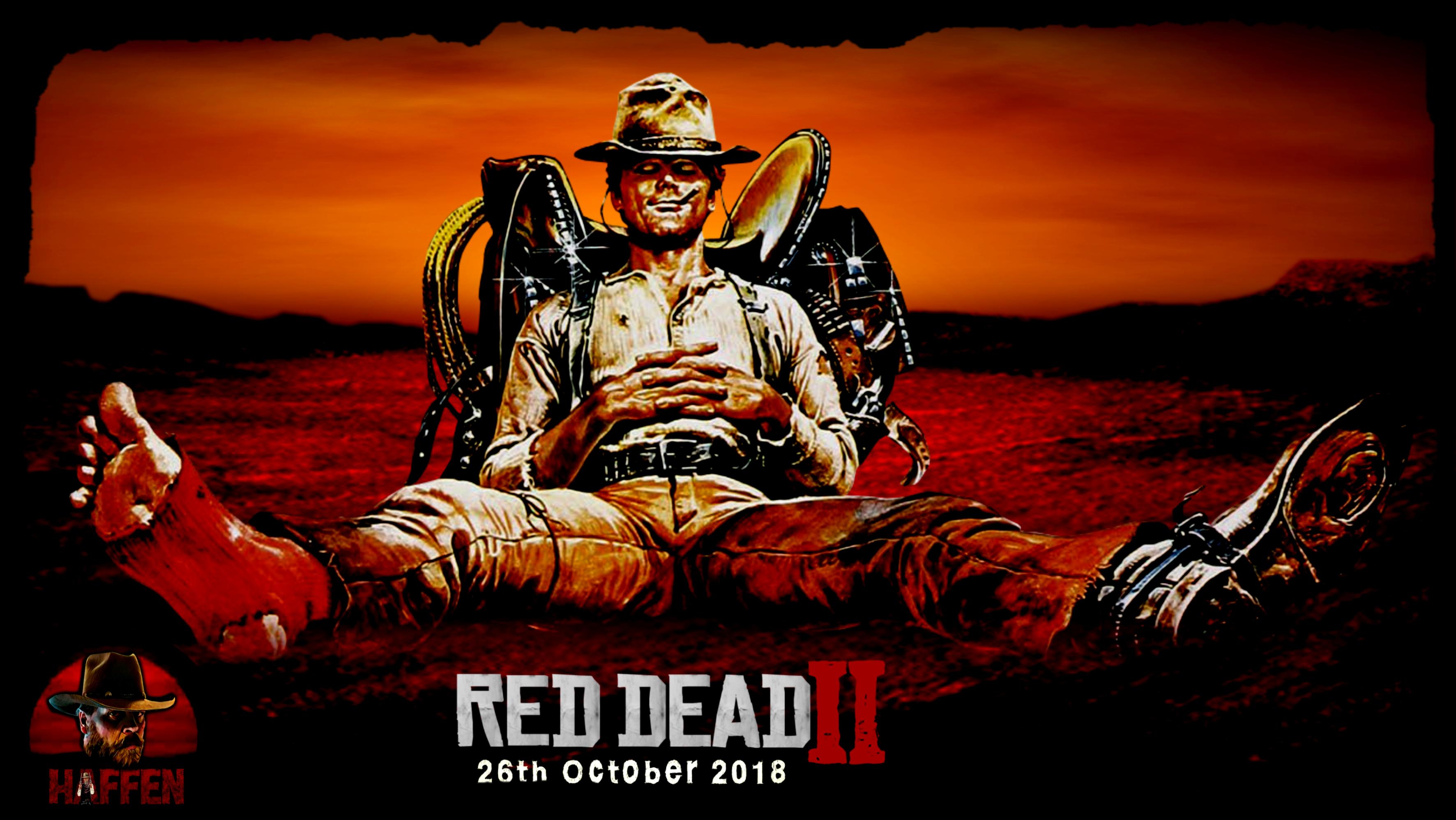 Rdr2 8 Months To 26th October 2018 Fan Art By Haffen Red Dead Redemption Artwork Red Dead Redemption Ii Red Dead Redemption