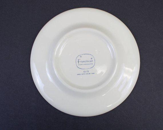 Vintage Franciscan \u0027Sundance\u0027 Earthware BB Plates, Set of 8 (E9192)