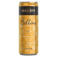 Hardys Peach Bellini 250Ml - Groceries - Tesco Groceries 4pp??