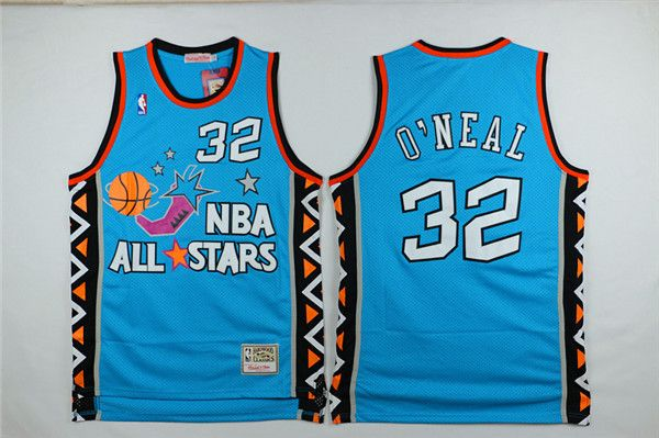 shaquille oneal 1996 all star green jersey 32  e548609ef