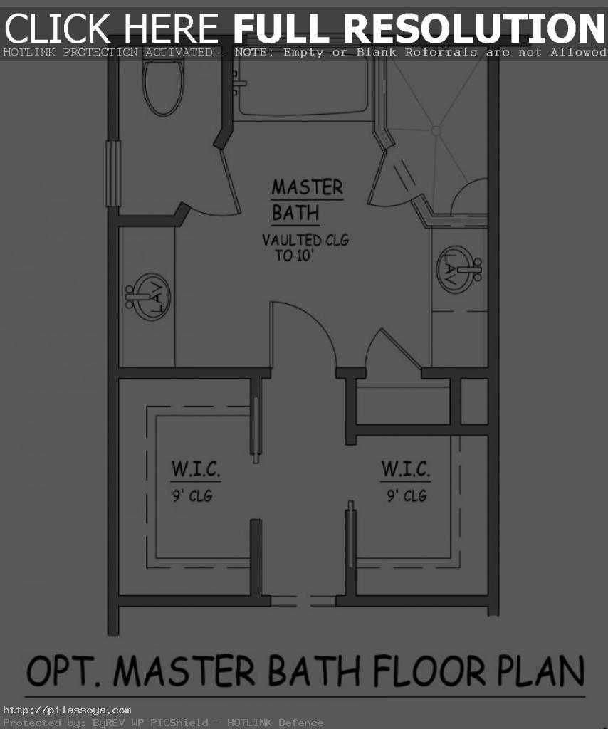 Master bathroom floor plans fancy small bathroom decorating