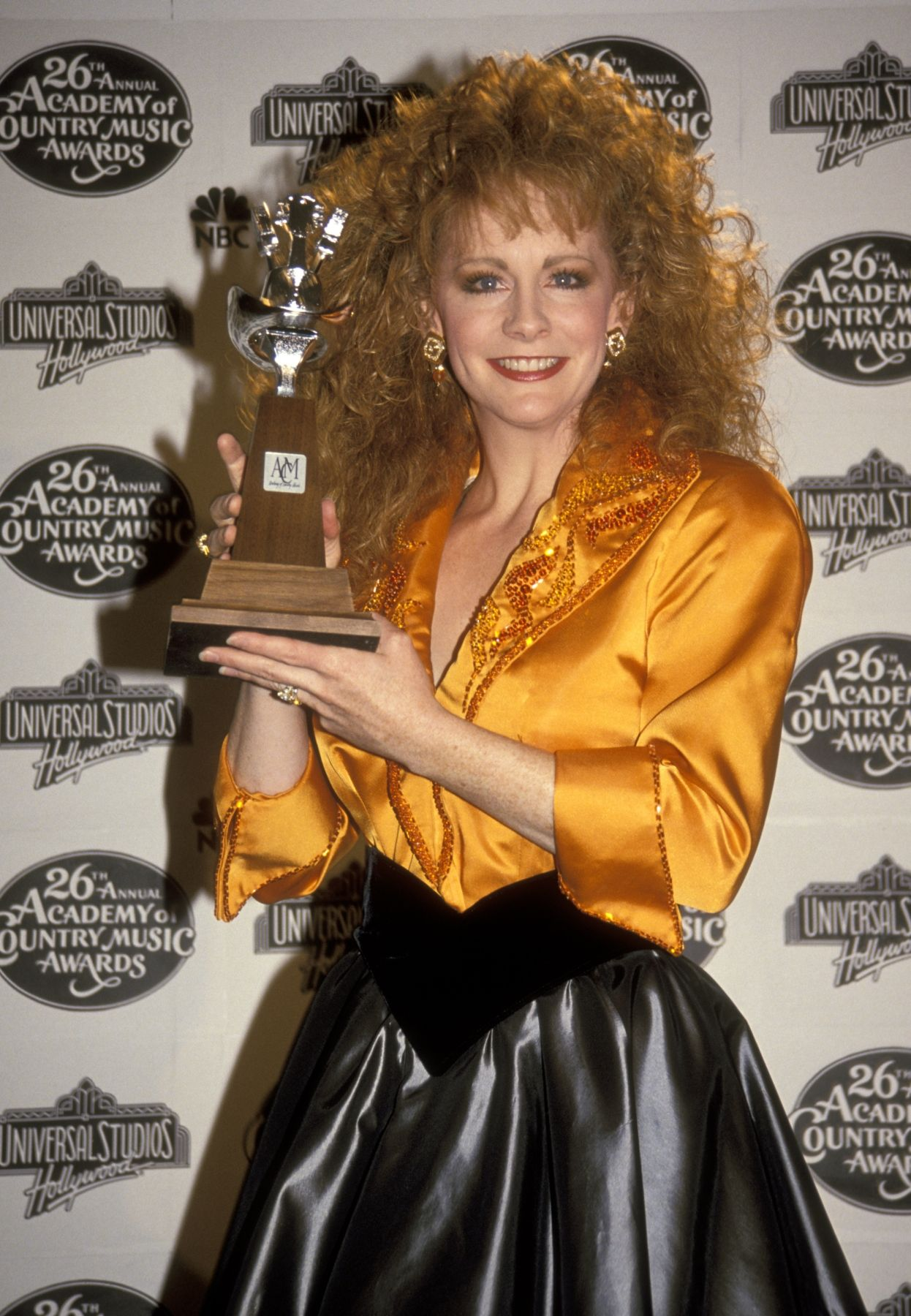 Reba McEntire 1991-04-25  26th Annual Academy of Country Music Awards