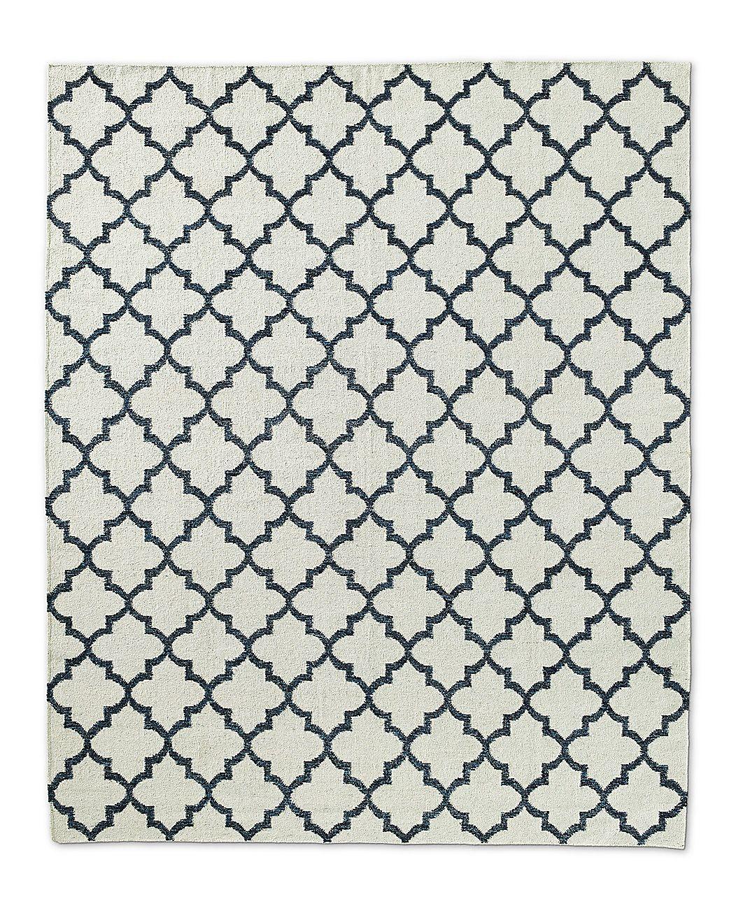 639 Final Sale Worried Blue Wont Match Moroccan Tile Flatweave