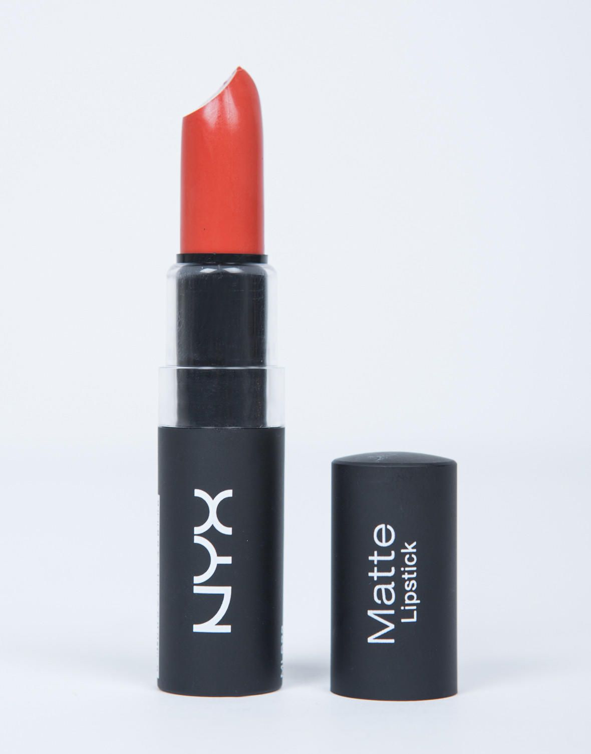 NYX Matte Lipstick - Indie Flick from 2020AVE. Saved to Beauty . #lips #lipstick #makeup #redorange #beauty  #cosmetics #nyx...