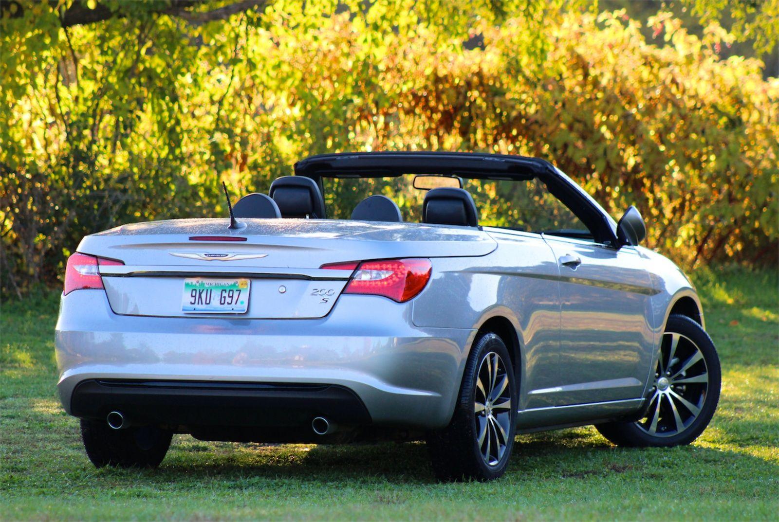 2015 chrysler 200 convertible
