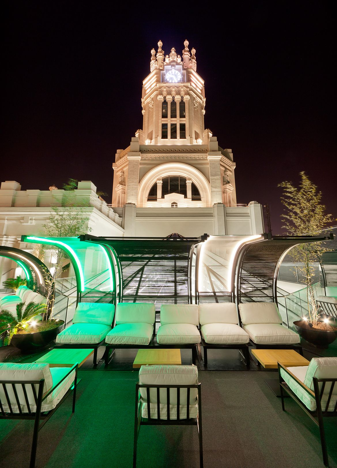 Palacio Cibeles Terraza On Behance King Koil Spain