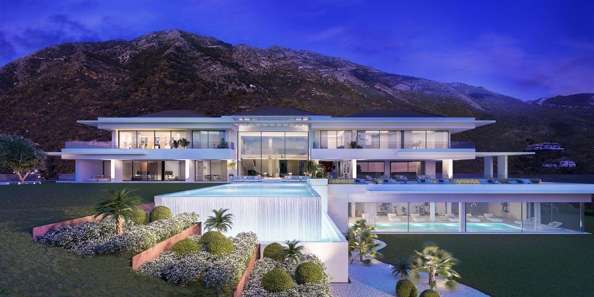 New Stylish Modern Luxury Villa In Zagaleta Marbella In Marbella Spain For Sale 10522993 Mansions Luxury Real Estate Marbella Villas