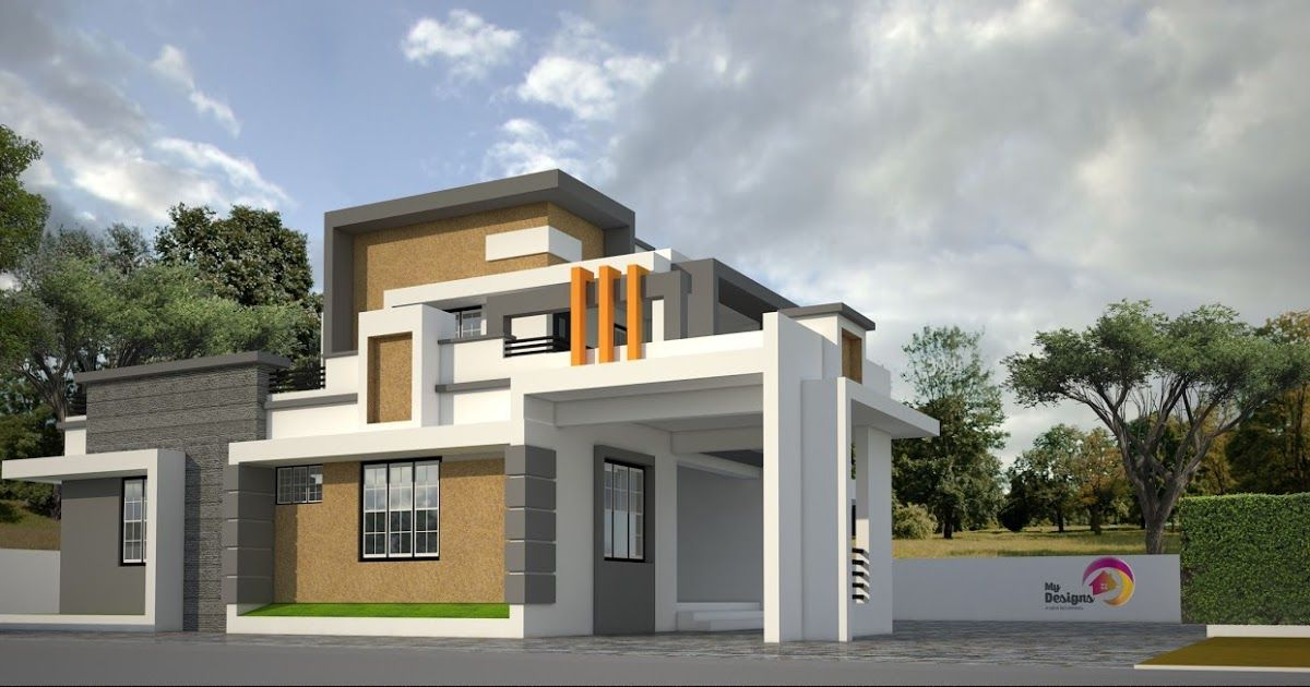 Searching For 3 Bedroom House Plans In Kerala Double Floor Then Modern Contemporary Style Home Design Of 1889 Sq Bedroom House Plans House Plans House Styles