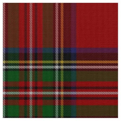 classic royal stewart tartan plaid fabric - Christmas Plaid Fabric
