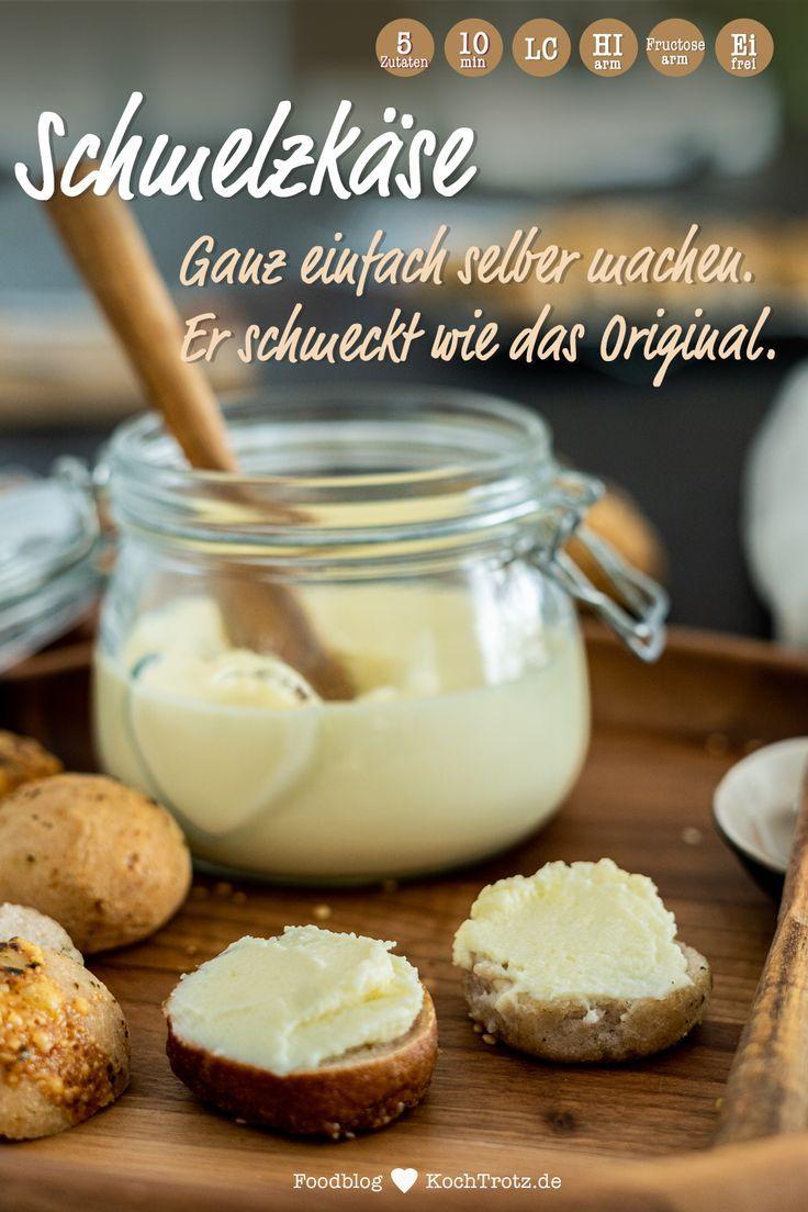 Schmelzkäse selber machen | histaminarm und optional laktosefrei - KochTrotz | kreative Rezepte