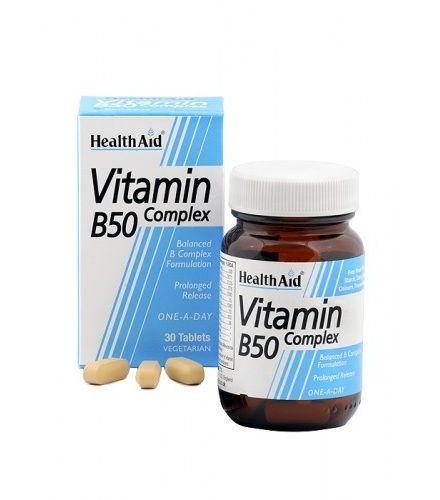 Comprar Complejo De Vitamina B 50 Con Vitamina C Y Hierro