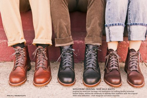 db61c070975 Boots, a Love Letter. | Boots & Fine Goods | Wolverine 1000 mile ...