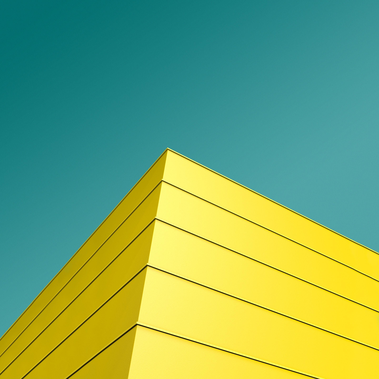 Geometric Architecture Minimal Yellow Htc Visual